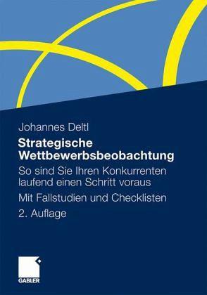 Cover des Buches Strategische Wettbewerbsbeobachtung