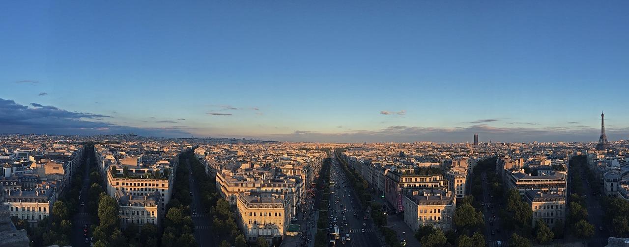 Paris, Hauptstadt von Frankreich und wichtige Wirtschaftsmetropole