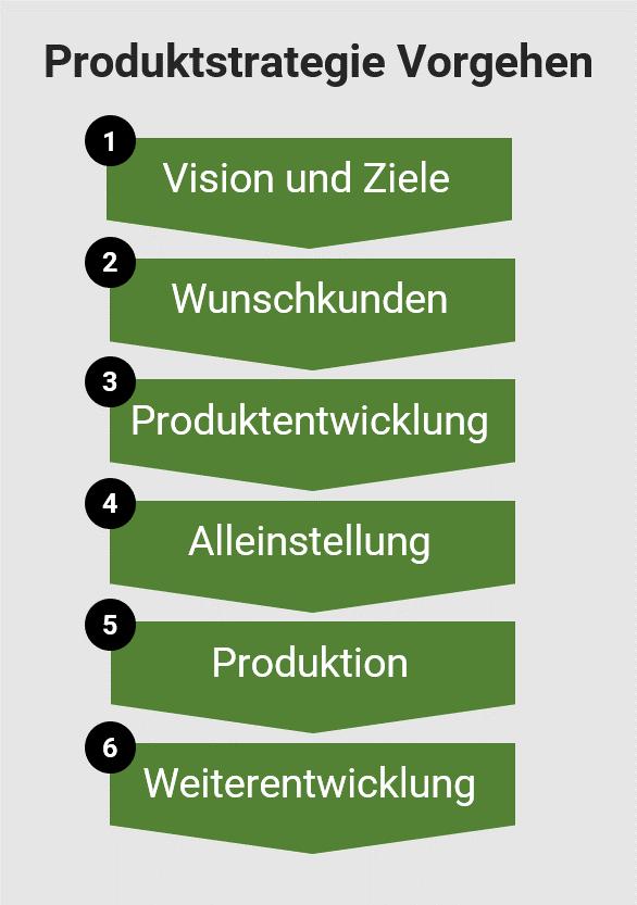 Produktstrategie Vorgehen