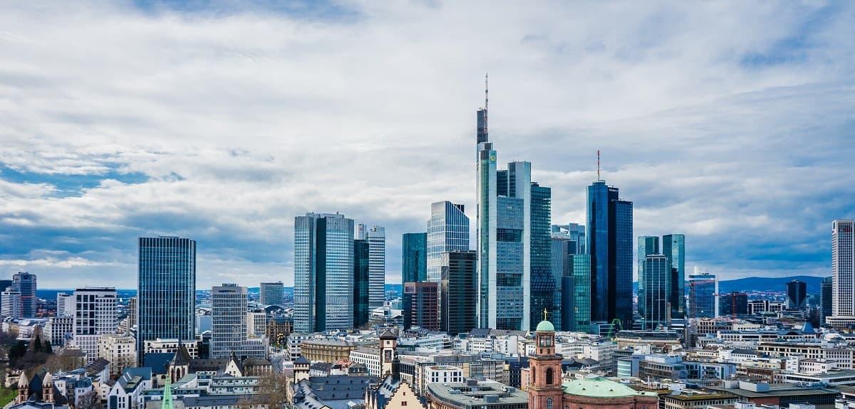 Skyline Frankfurt - Finanzzentrum Deutschlands
