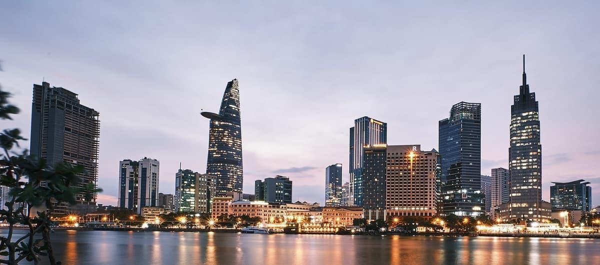 Skyline Saigon - Vietnam - ASEAN Staat - Südostasien